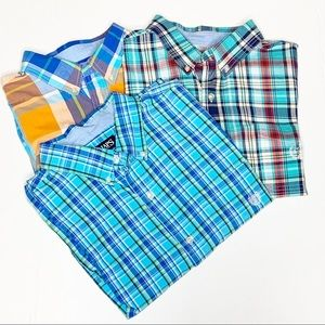 Bundle of 3 Chaps Short-Sleeve Shirts